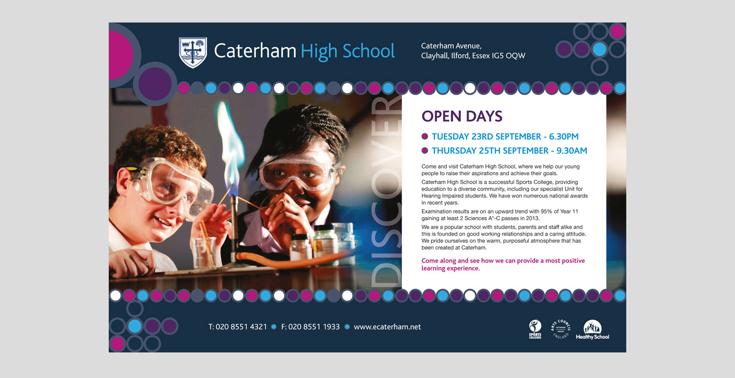 Open Day Advertising