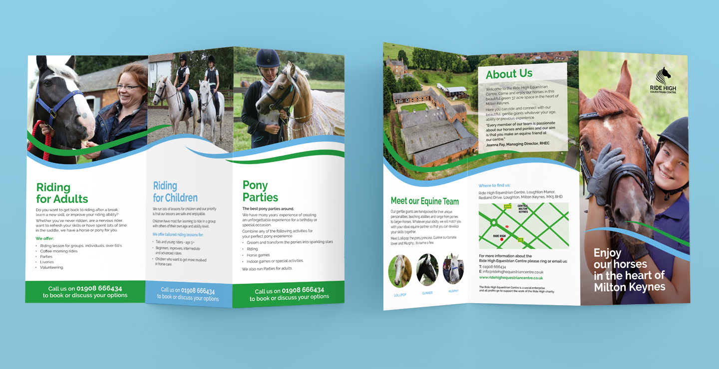 charity marketing materials