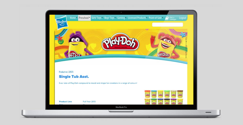 Toys web design and development