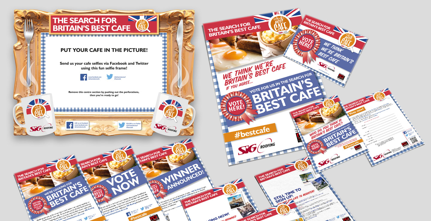 Competition collateral design