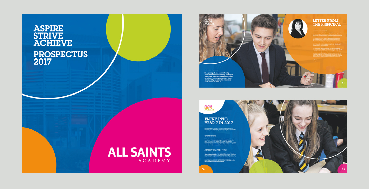 prospectus design education