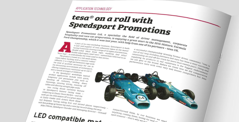 B2B PR Motorsport sector