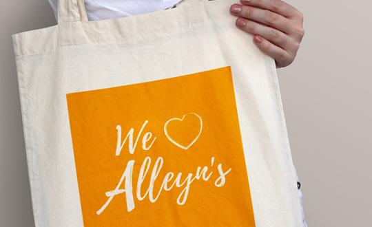 branded tote bag marketing