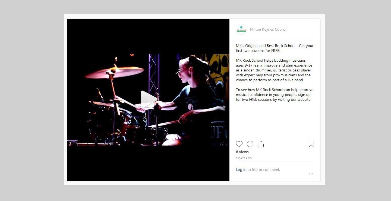 social media marketing music