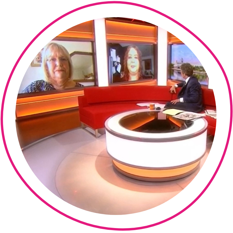 Orchard Care Homes featuring on BBC Breakfast